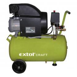 Extol olajos légkompresszor, 2200w, 50l tartály, 8 bar, 412lmin 418211